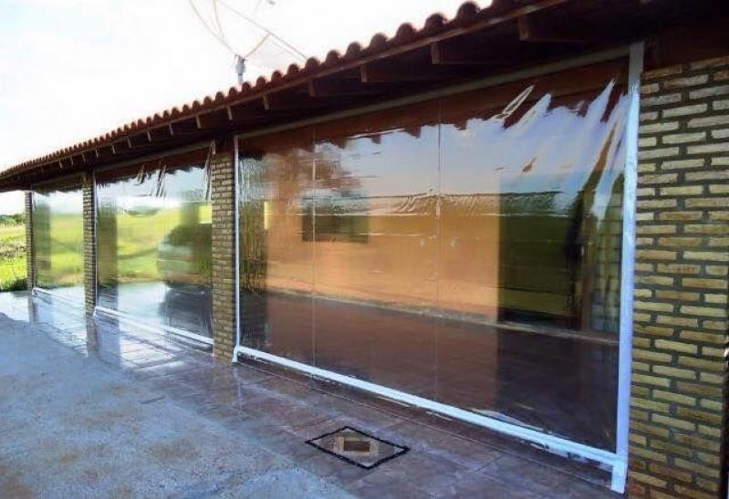 Cortina de Lona Retrátil Lateral Jardim São Luiz - Cortina de Lona Retrátil Lateral