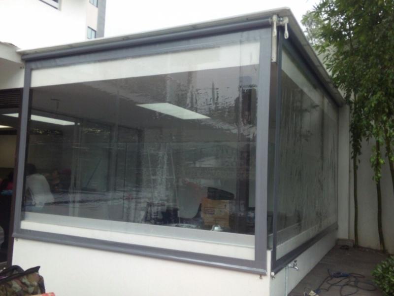 Cortina em Lona Transparente Preço Sacomã - Cortina de Lona para Lojas
