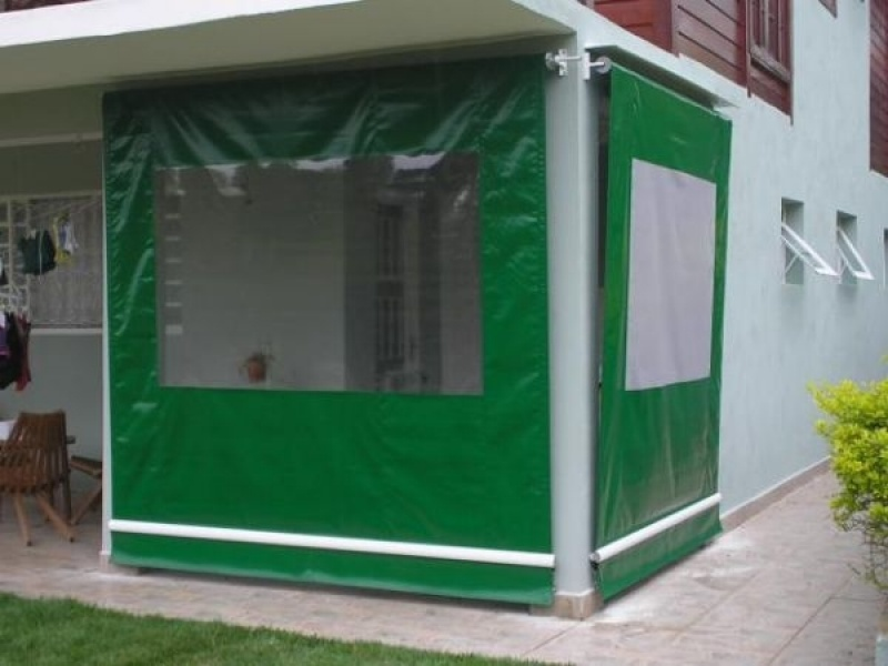 Cortina Painel em Lona Jabaquara - Cortina de Lona Transparente Comercial