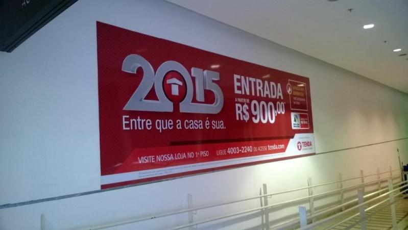 Empresa de Painel de Lona com Logotipo na Cidade Ademar - Painel de Lona para Fachada de Lojas