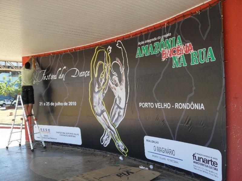 Empresa de Painel em Lona para Eventos Jabaquara - Painel em Lona Digital