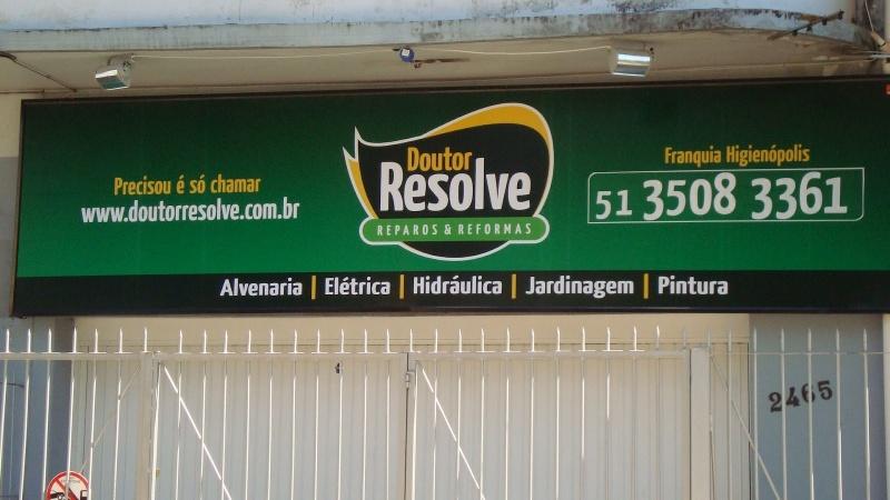 Painel de Lona para Fachada de Lojas Sacomã - Painel de Lona para Loja