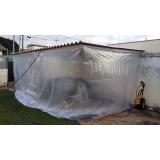 cortina de lona para lojas Itaim Bibi