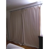 cortina de lona para varanda Jardins