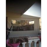 cortina de rolo para área externa preço em Pedreira