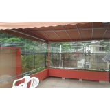 cortina de rolo para varanda em São Caetano do Sul