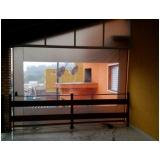 cortina de rolo na Vila Buarque