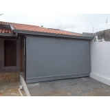 cortina em lona para garagem na Vila Gustavo