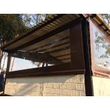 cortina enrolável transparente em sp Campo Belo