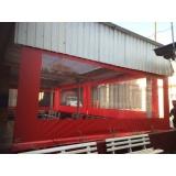 cortinas de rolo para área externa Santo André
