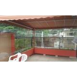 cortina de rolo para varanda