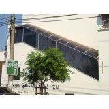 fechamento em policarbonato na Cidade Ademar