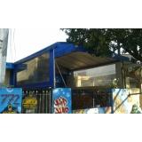 instalação de cobertura para garagem residencial Santo André