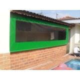 instalação de cortina de lona retrátil lateral em Pedreira