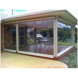 instalação de cortina em lona transparente Jardim Paulistano