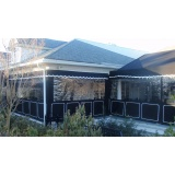 instalação de cortina retrátil em lona Pari