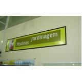 instalação de painel de lona para comércio Jardim Ângela