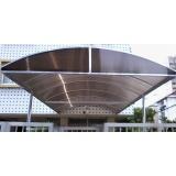 instalação de toldo túnel de policarbonato na Luz