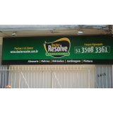 painel de lona para fachada de lojas Tucuruvi
