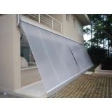 quanto custa cortina de lona transparente comercial na Casa Verde