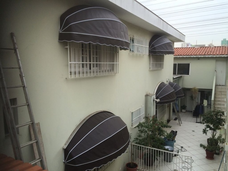 Toldo de Lona em Sp na Vila Mariana - Toldo de Policarbonato