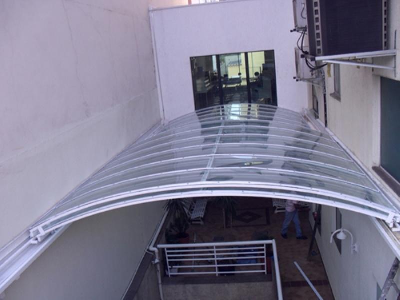 Toldo Transparente para Fachadas Pari - Toldo para área de Lazer
