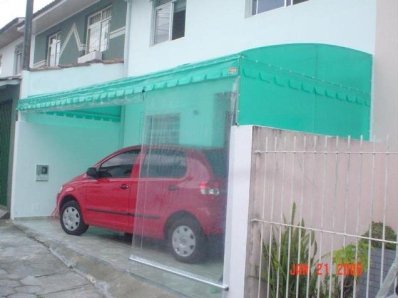 Toldo Transparente para Garagem Santo Amaro - Toldo Transparente para Garagem